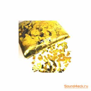 Металлизированное конфетти прямоугольное 10х20мм