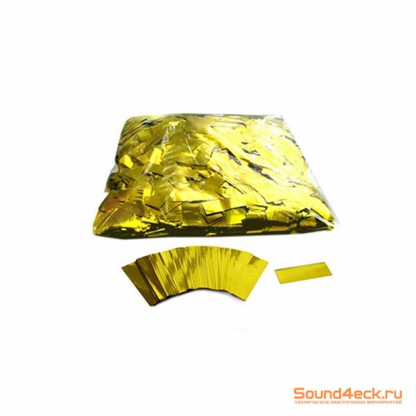 Металлизированное конфетти 17х55мм Золото