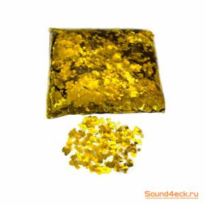 Металлизированное конфетти квадратное 6х6мм
