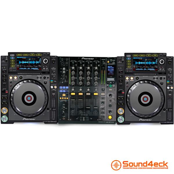 Аренда PIONEER CDJ2000 NEXUS + DJM900 NEXUS