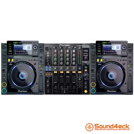Аренда dj-комплекта Pioneer CDJ-2000 и DJM-800